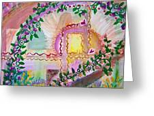 Garden Of Hope Greeting Card