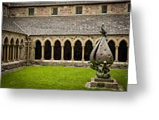 Garden Of Iona Abbey2 Greeting Card