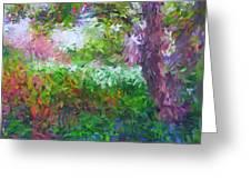 Garden Of Joy Greeting Card