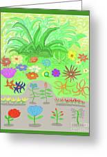 Garden Of Memories Greeting Card