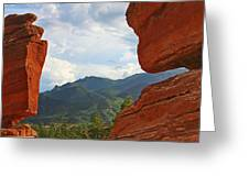 Garden Of The Gods - Colorado Springs Greeting Card