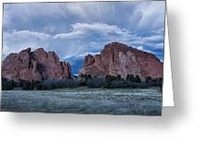 Garden Of The Gods 5 Greeting Card