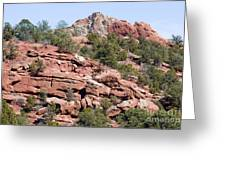 Garden Of The Gods Park Greeting Card