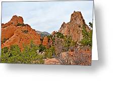 Garden Of The Gods Study 6 Greeting Card