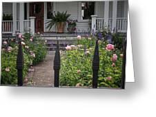 Garden Path Greeting Card