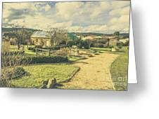 Garden Paths And Courtyards Greeting Card