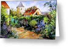 Garden Pleasures Greeting Card