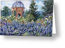 Garden Profusion - Lavendar Greeting Card