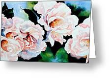 Garden Roses Greeting Card