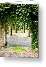 Garden Ruins Greeting Card