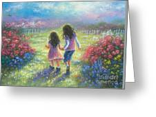Garden Sisters Greeting Card