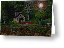 Garden Sleeping Greeting Card