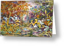 Garden Study Greeting Card