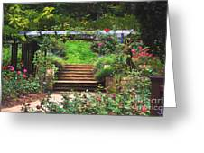 Garden Trellis Greeting Card