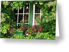 Garden Window Greeting Card