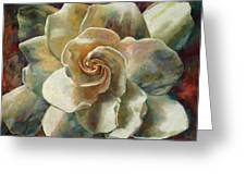 Gardenia Greeting Card by Billie Colson