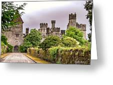 Gardens At Lismore Castle Greeting Card by Claudia Abbott