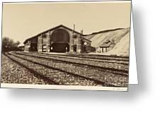 Gare De Longueau Greeting Card