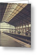 Gare Du Nord Greeting Card