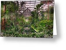 Garfield Park Conservatory Reflecting Pool Greeting Card