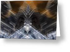 Gargoyle Priestess  Greeting Card