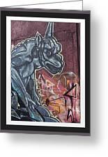 Gargoyle Madness Greeting Card