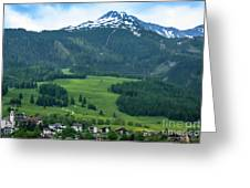 Garmisch-partenkirchen Germany Greeting Card