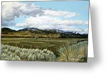 Garner Valley Meadow Greeting Card