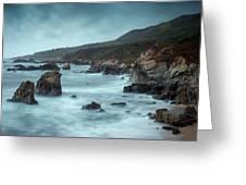 Garrapata Beach, Big Sur, California Greeting Card