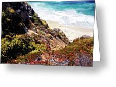Garrapata Highlands 3 Greeting Card