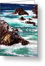 Garrapata Highlands 6 Greeting Card