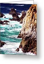 Garrapata Highlands 7 Greeting Card