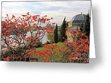 Garrick Temple On The River Thames At Hampton Greeting Card