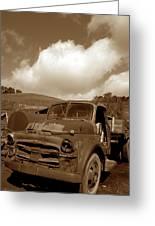 Garrod's Old Truck 2 Greeting Card