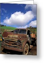 Garrod's Old Truck Greeting Card