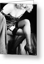 Garters And Stockings Greeting Card