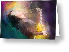 Gary Moore 01 Greeting Card