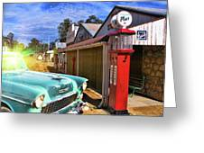 Gas Stop Greeting Card