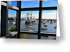 Gasparilla Through The Looking Glass Greeting Card