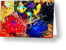Gass Art Greeting Card