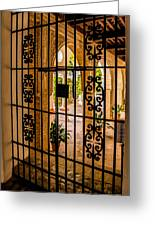 Gate - Alcazar Of Seville - Seville Spain Greeting Card