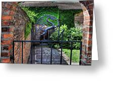 Gate And Arch Greeting Card