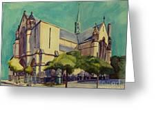 Gate Of Heaven Church Greeting Card