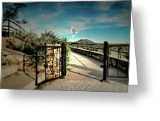 Gate To The Martyrs Greeting Card