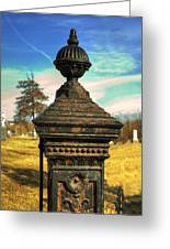 Gate Post Greeting Card