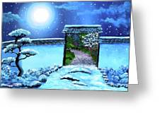 Gate To Spring Greeting Card