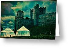 Gate Tower At Warwick Castle Greeting Card