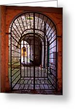 Gated Passage Greeting Card