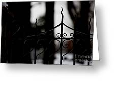 Gated Woods Greeting Card