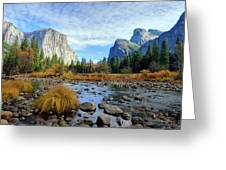 Gates Of The Valley Greeting Card